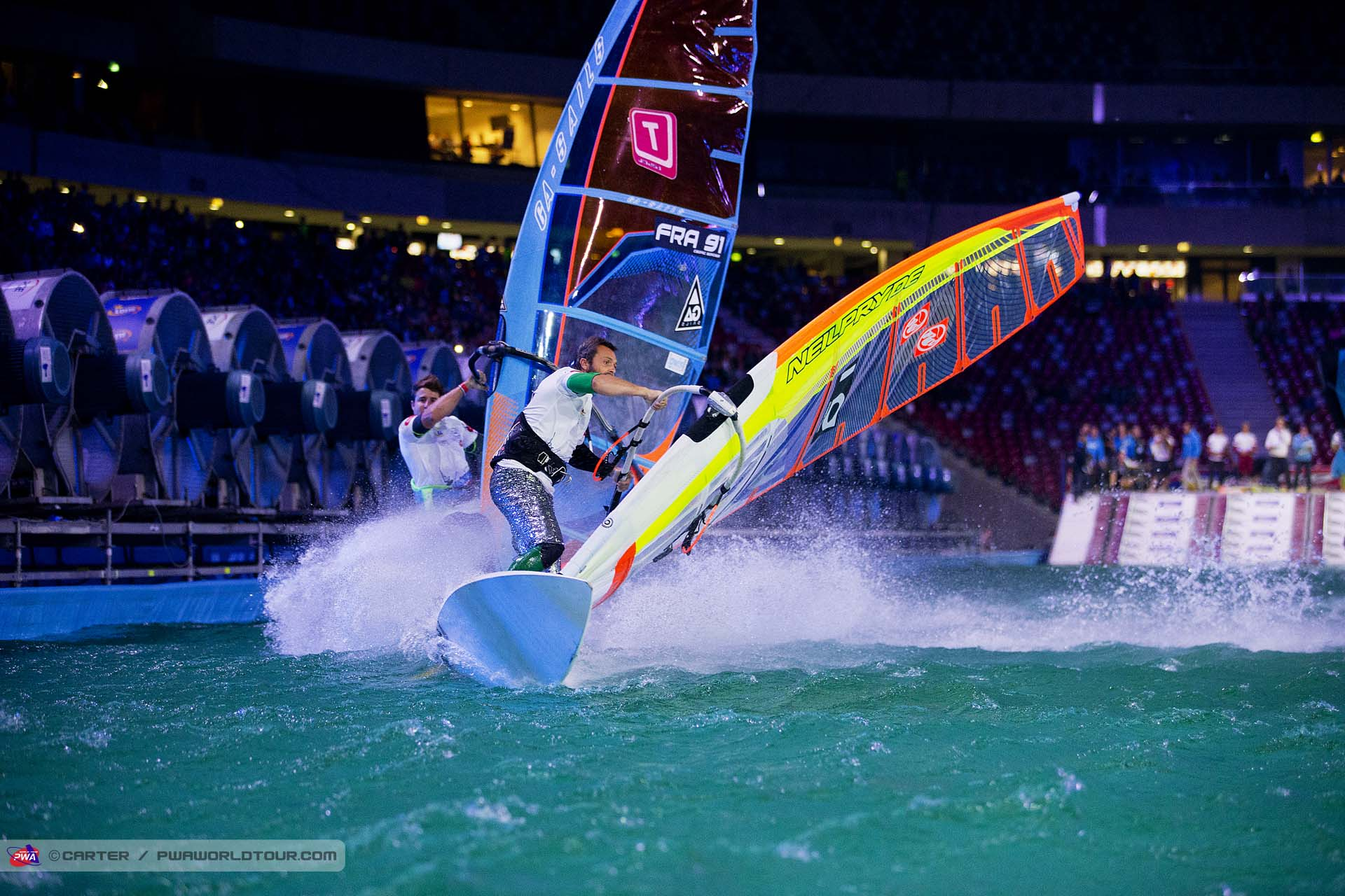 Andrea Rosati at PWA World Cup