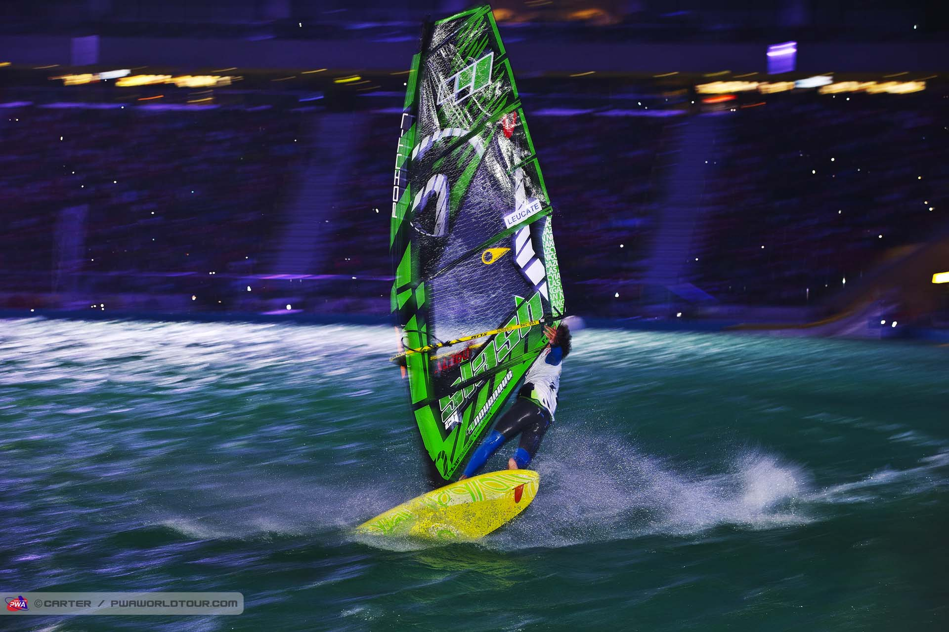 Nicolas Akgazciyan at PWA World Cup