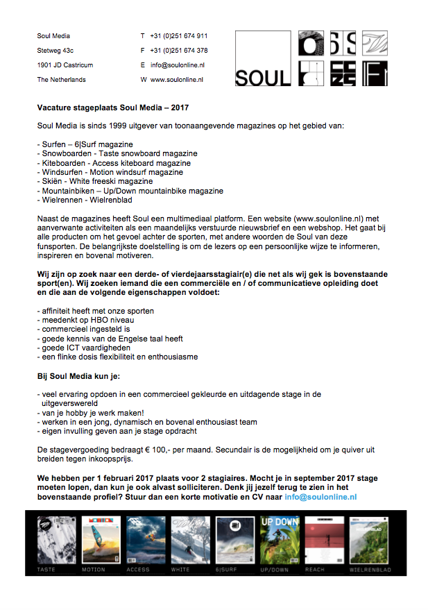 soul-media-vacature